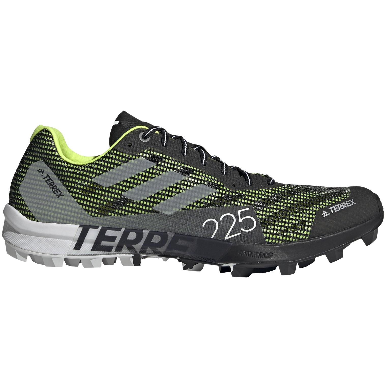 adidas Männer TERREX Speed SG Trailrunningschuhe - core black/ftwr white/solar yellow FW2870