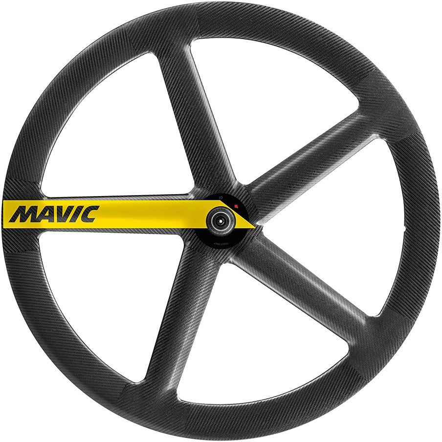 Mavic IO Rio Track Front Wheel Tubular - black