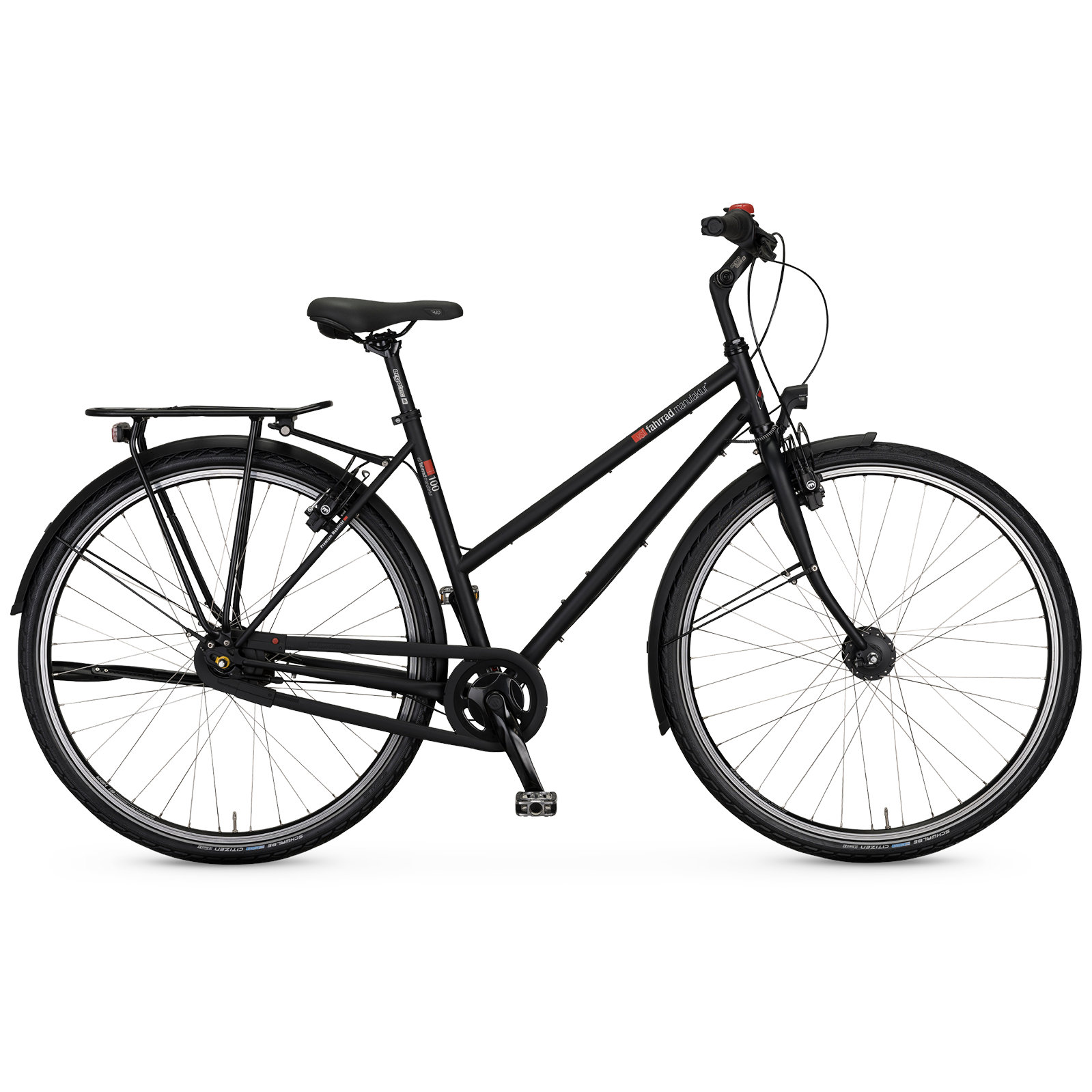 vsf fahrradmanufaktur T-100 HS11 Nexus - Women Trekking Bike - 2022 - ebony matte