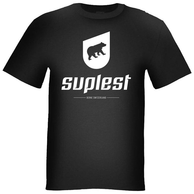 Suplest T-Shirt Logo - black