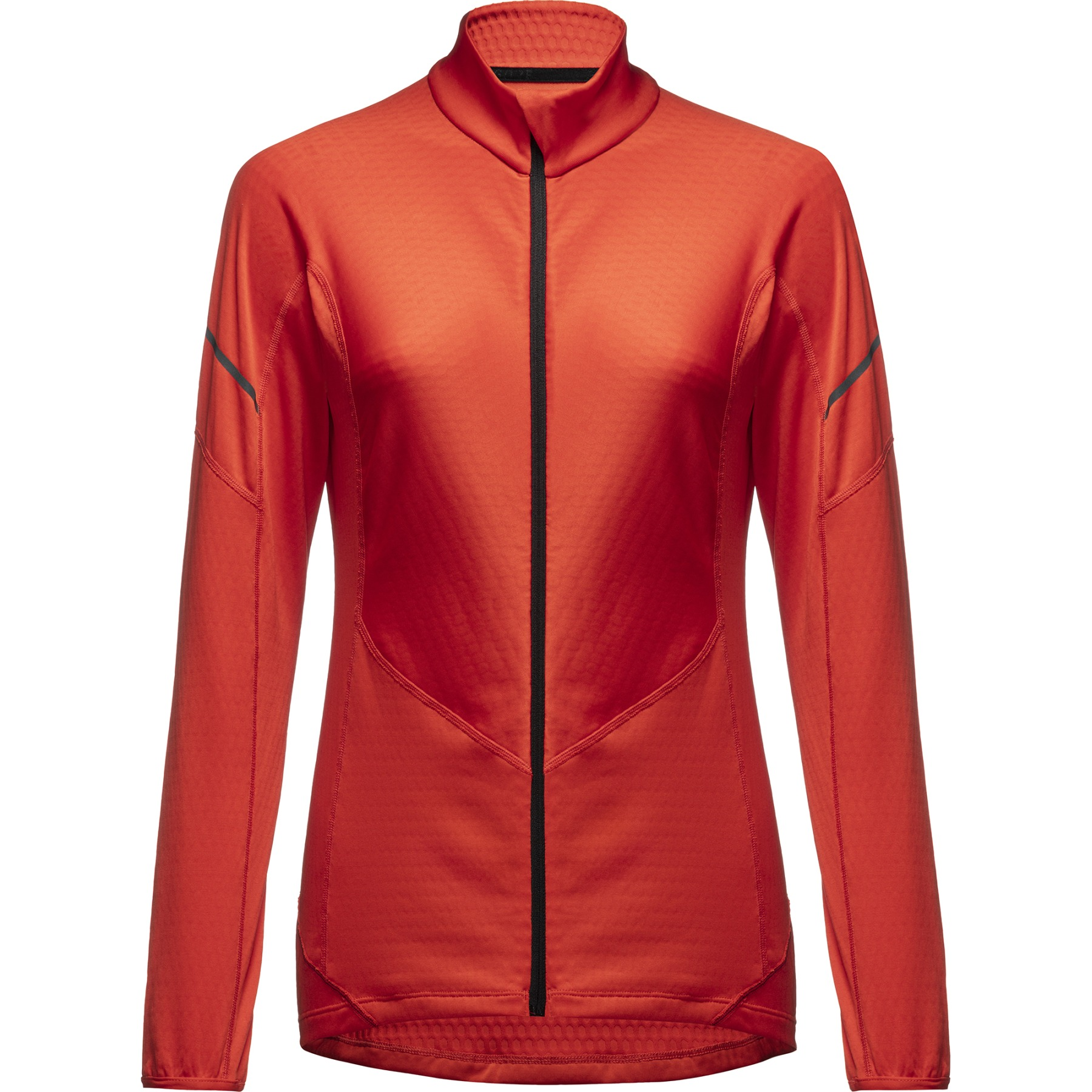GORE Wear Thermo Zip Long Sleeve Shirt for Women - fireball AY00