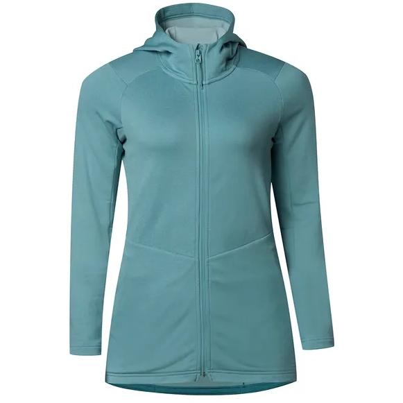 7mesh Apres Chaqueta con capucha para mujeres - Blue Agave