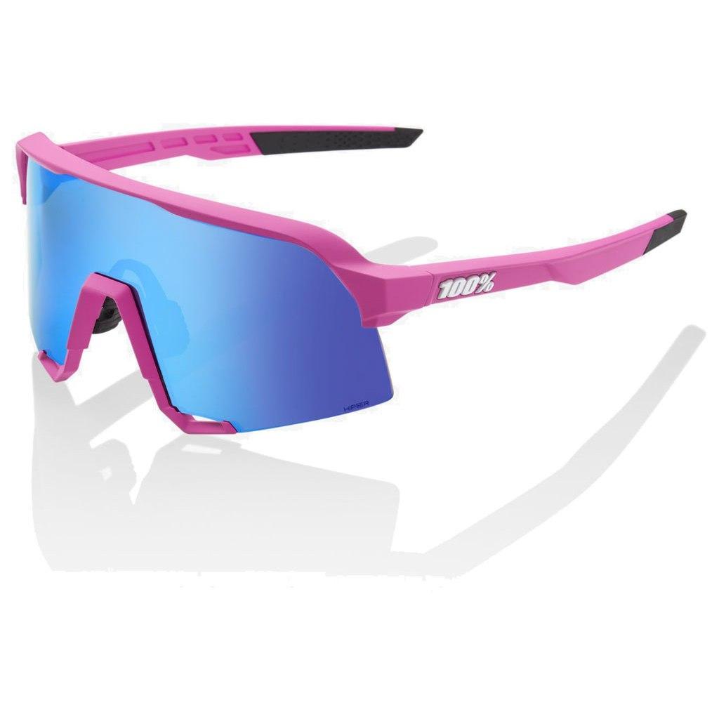 100% S3 HiPER Multilayer Mirror Lens Glasses - Matte Pink