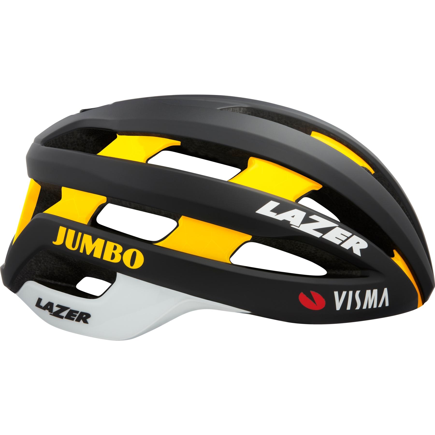 Lazer Sphere Helm Team Jumbo-Visma - black/yellow