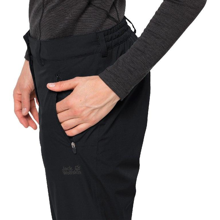 Image of Jack Wolfskin Parana Pants W - black
