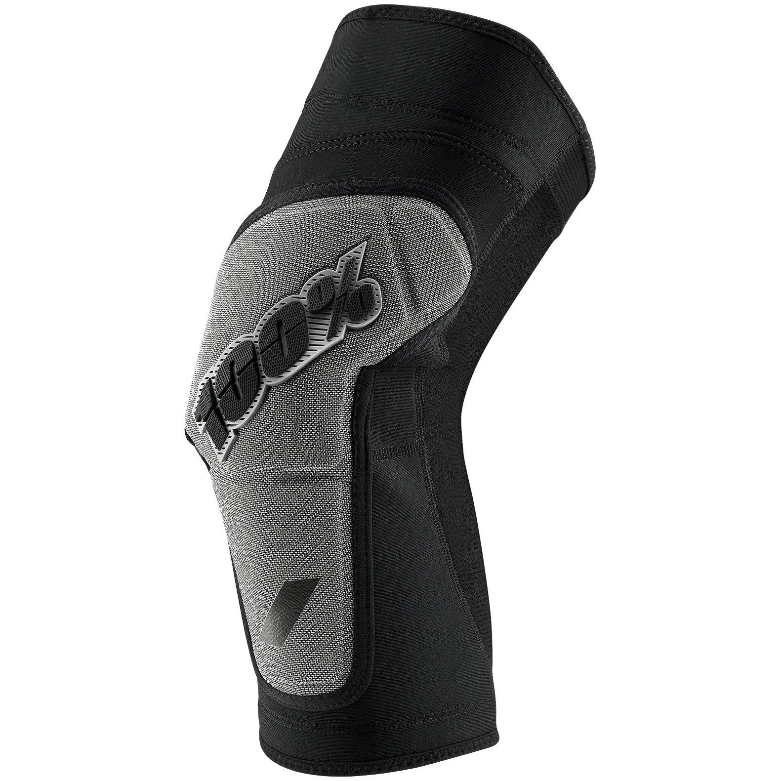 Imagen de 100% Ridecamp Knee Guard - Black/Grey