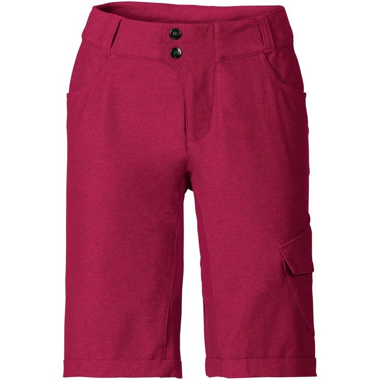 Vaude Women's Tremalzo Shorts II - crimson red