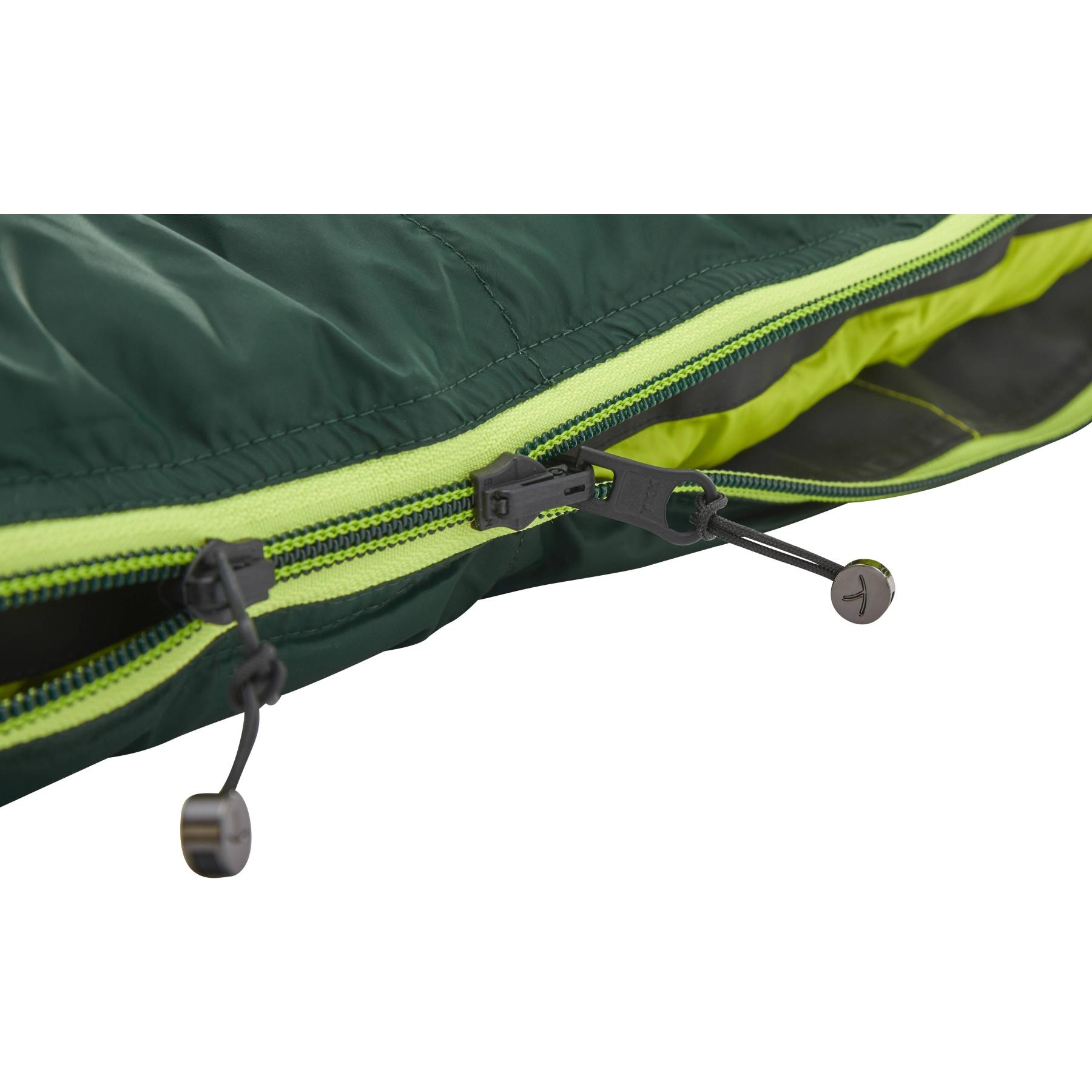 Bild von Y by Nordisk Tension Comfort 600 XL Schlafsack - scarab/lime
