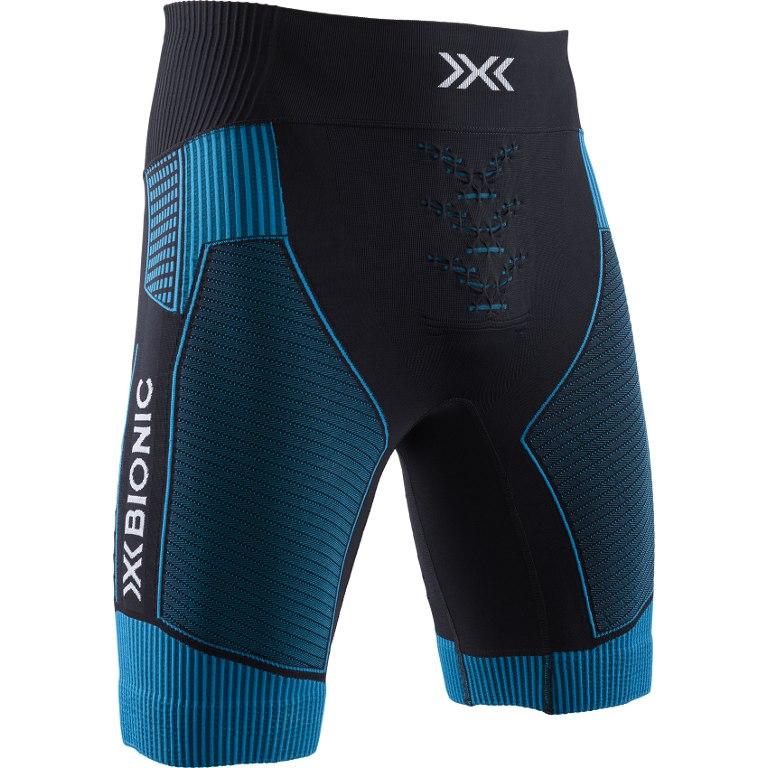 X-Bionic Effektor 4.0 Run Laufshorts für Herren - black/teal blue