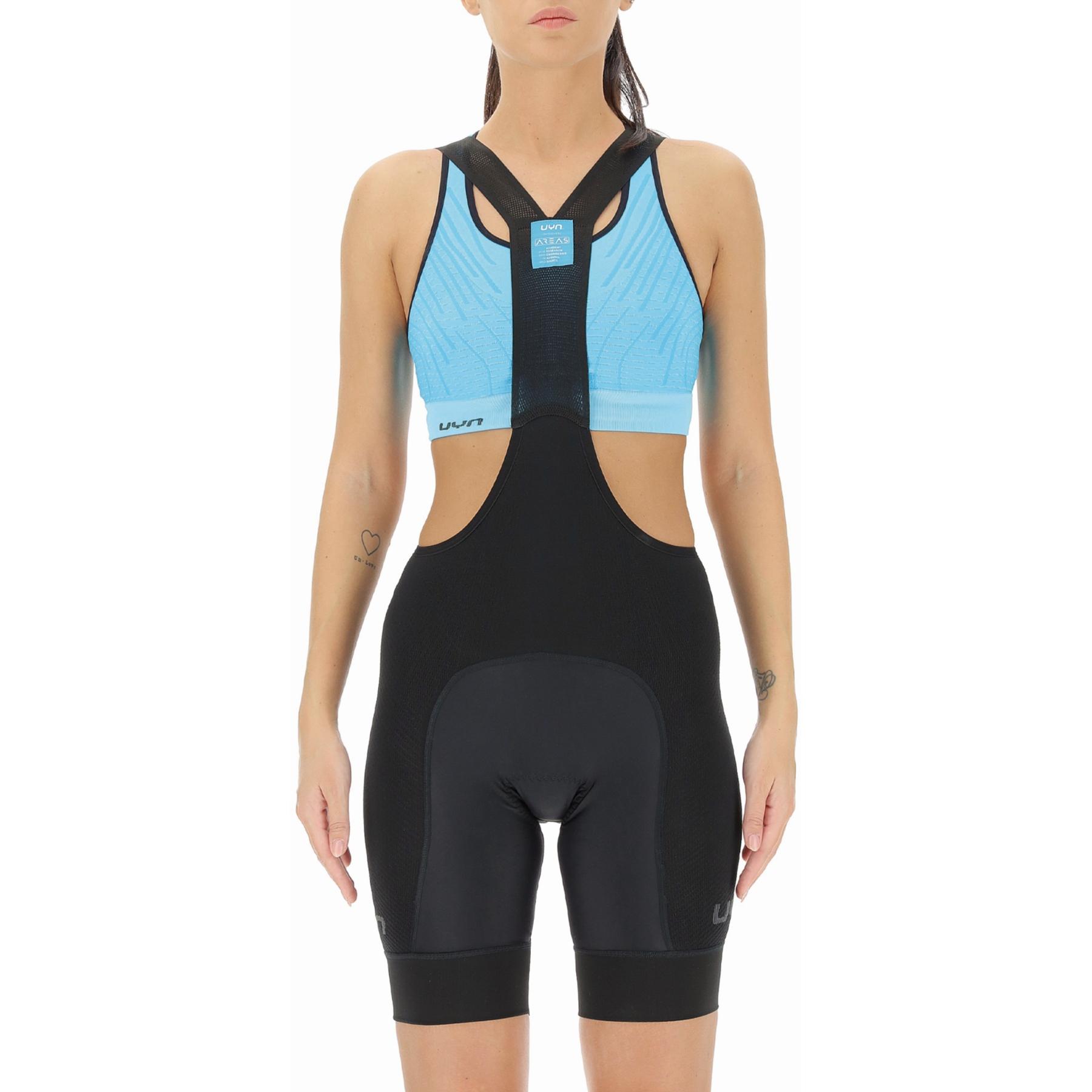 UYN Biking Ridemiles Lady Bib Short - Black/Black