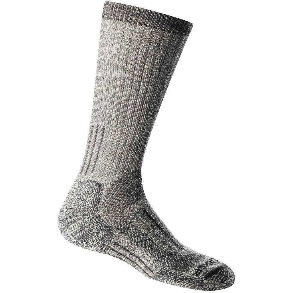 Produktbild von Icebreaker Mountaineer Expedition Mid Calf Socken für Damen - Natural/Monsoon HTHR