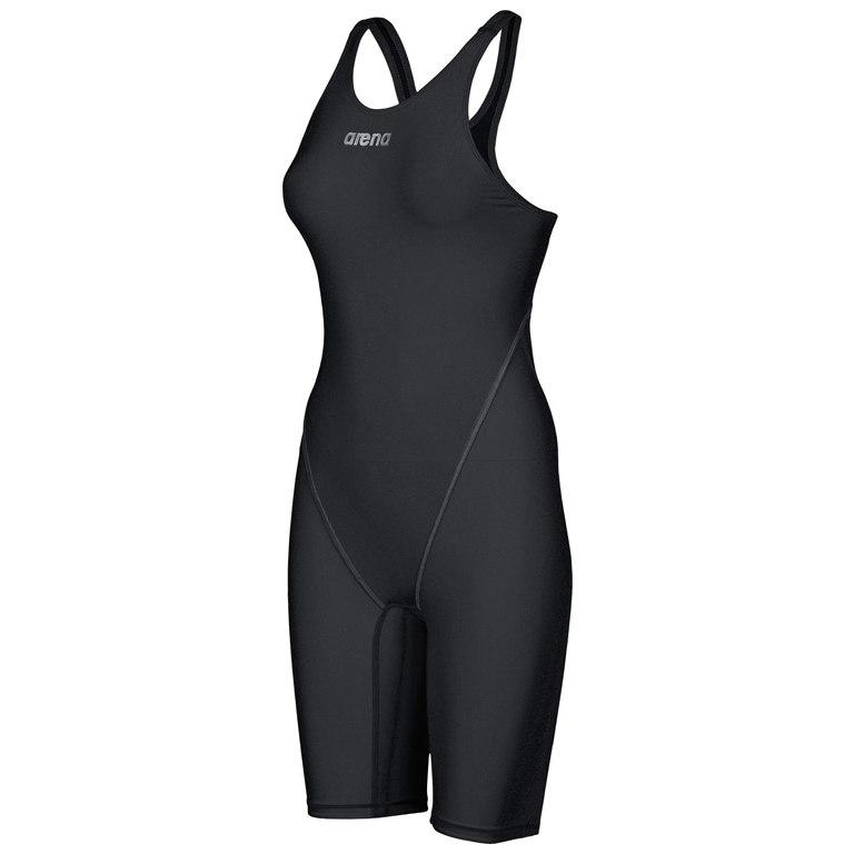 arena Powerskin ST 2.0 Full Body Short Leg Open Back Suit Damen-Schwimmanzug - black