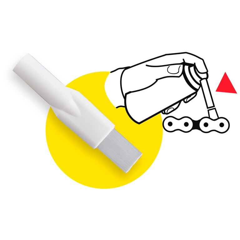 Bild von innobike Pinselaufsatz - 10er Pack
