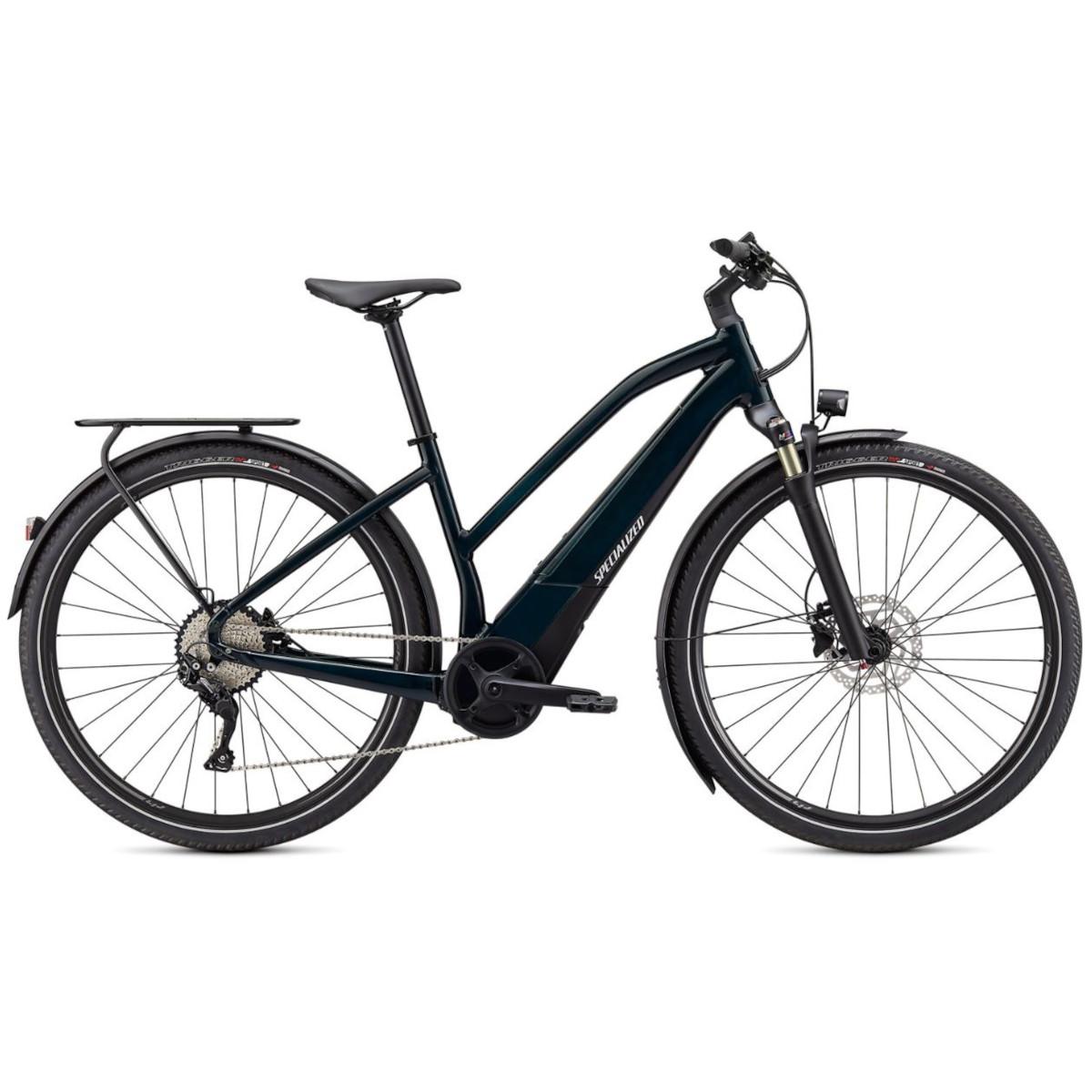 Produktbild von Specialized TURBO VADO 4.0 Step-Through E-Bike - 2021 - forest green / black / liquid silver