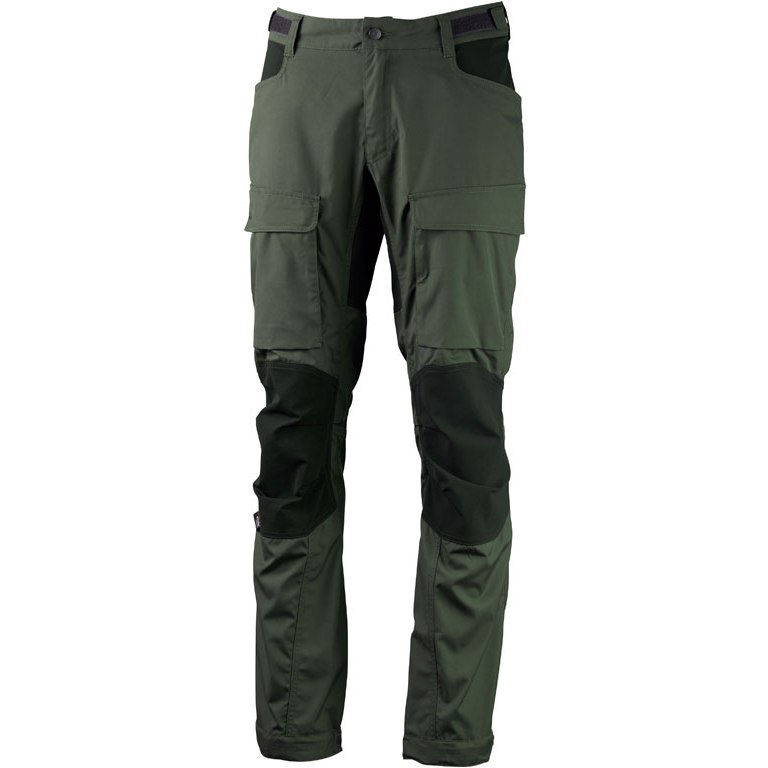 Lundhags Authentic II Pants - Forest Green/Dark Forest Green 619