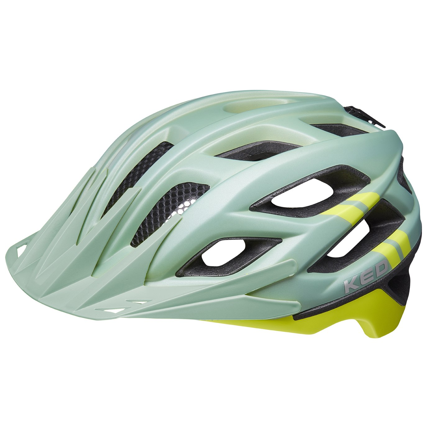 KED Companion Helm - olive yellow matt