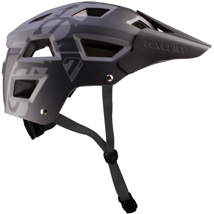 7 Protection 7iDP M5 Casco - black