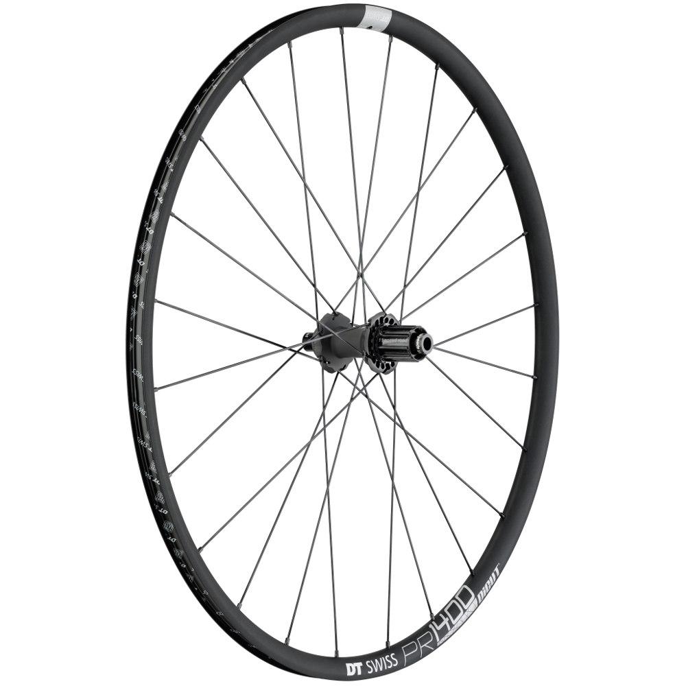 DT Swiss PR 1400 DICUT db 21 - Rear Wheel - Clincher - Centerlock / IS - 12x142mm / QR