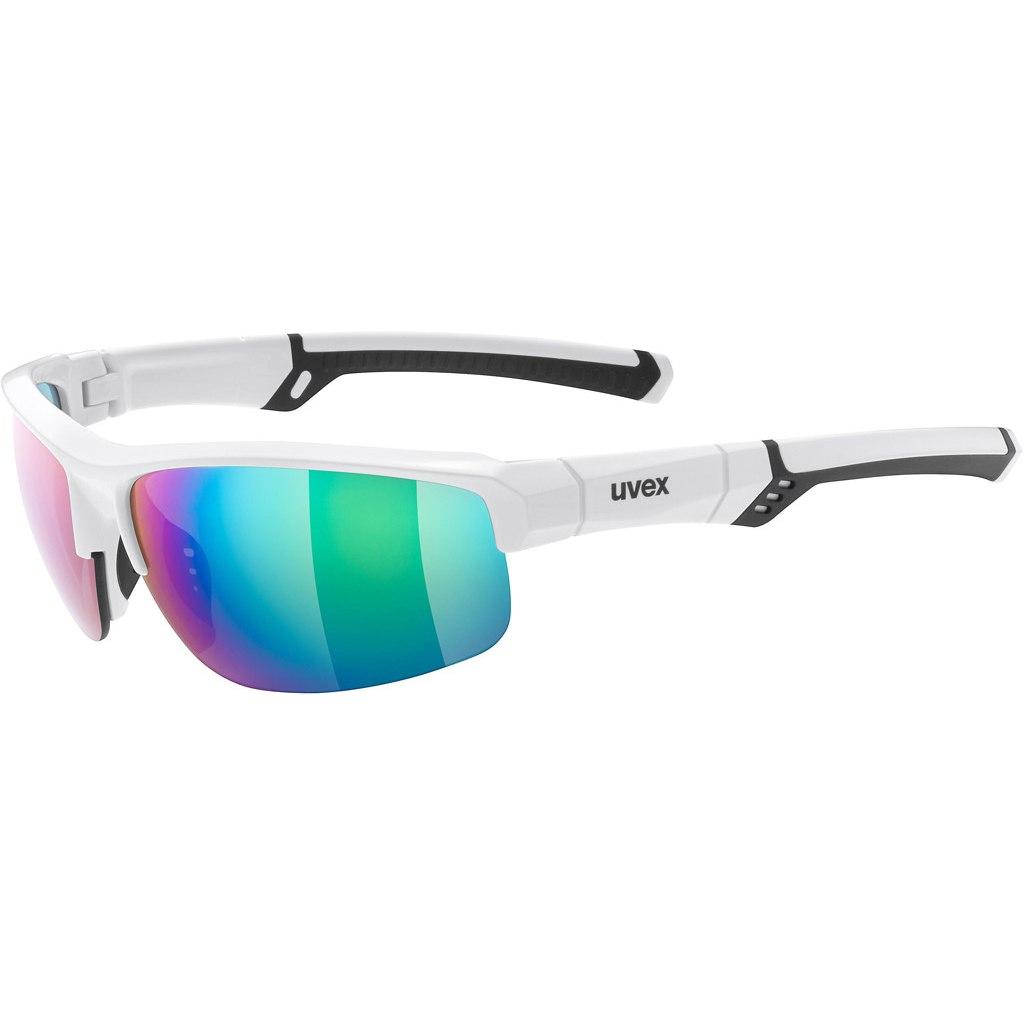 Uvex sportstyle 226 - white/mirror green Glasses