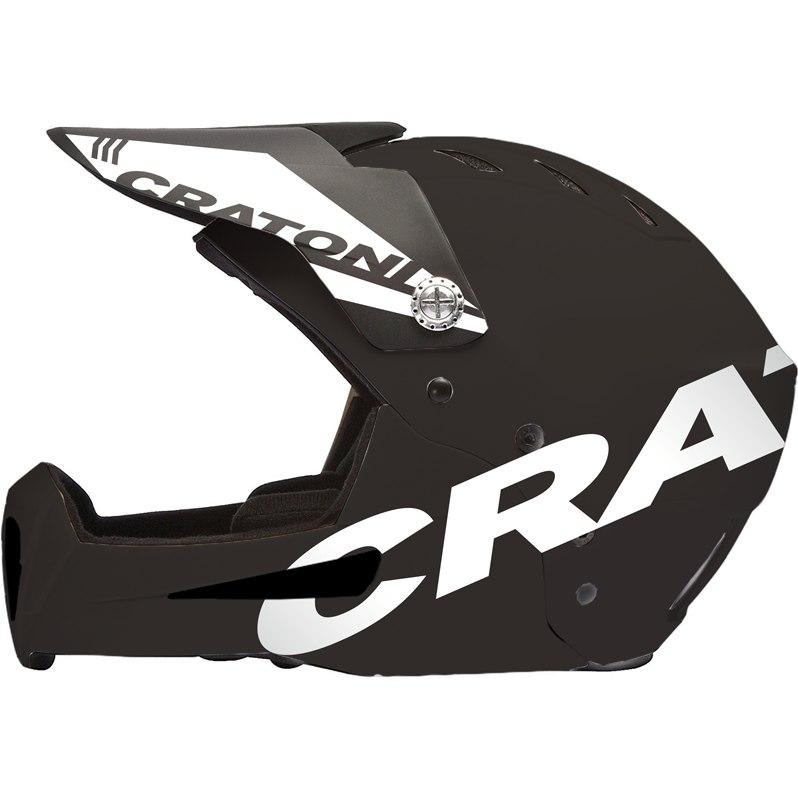 Image of CRATONI Shakedown Fullface Helmet - black matt