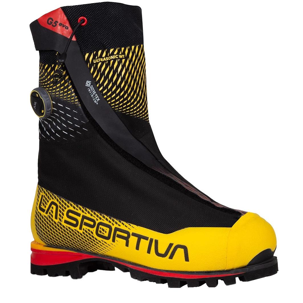 La Sportiva G5 Evo Mountaineering Shoes unisex - Black/Yellow