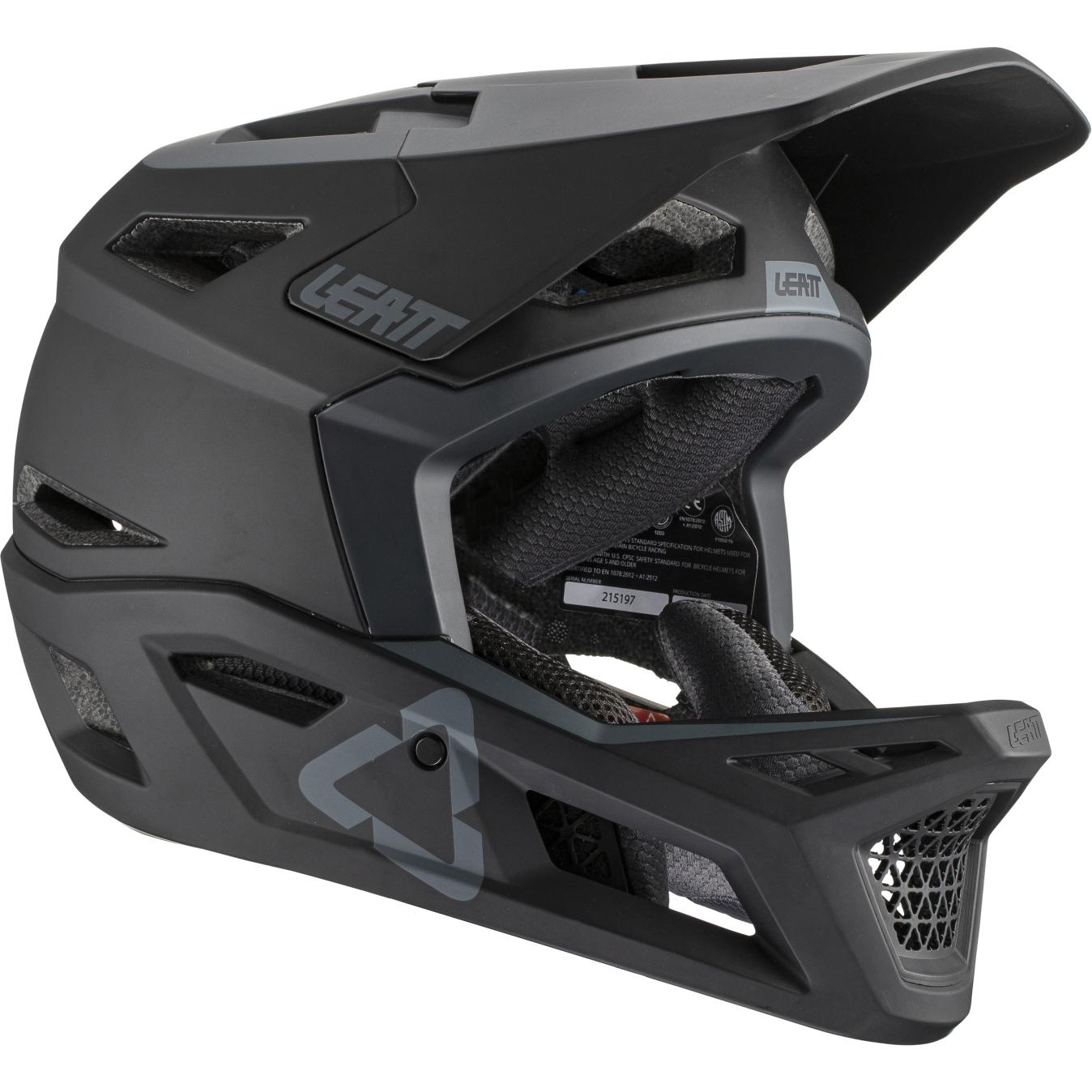 Leatt DBX 4.0 DH Full Face Helmet - black