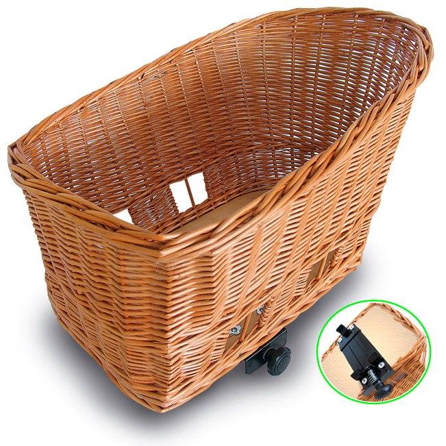 Basil Pasja Pet Rear Bike Basket 50 cm
