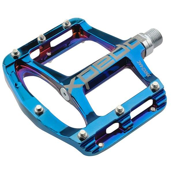 Bild von Xpedo Spry+ Flat Pedal - blue ray