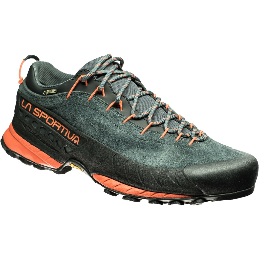 Image of La Sportiva TX4 GTX Approach Shoes - Carbon/Flame