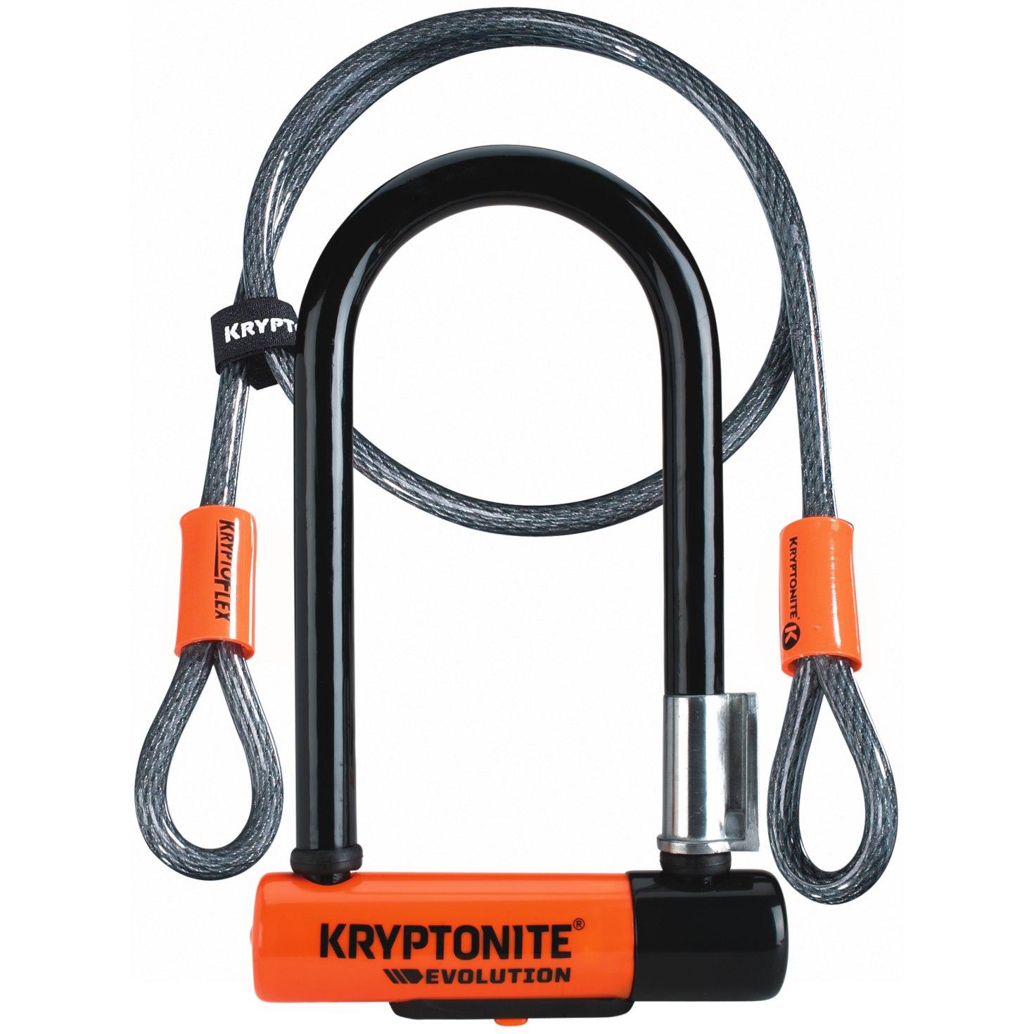 Foto de Kryptonite Evolution Mini-7 U-Lock + 120cm Kryptoflex Cable