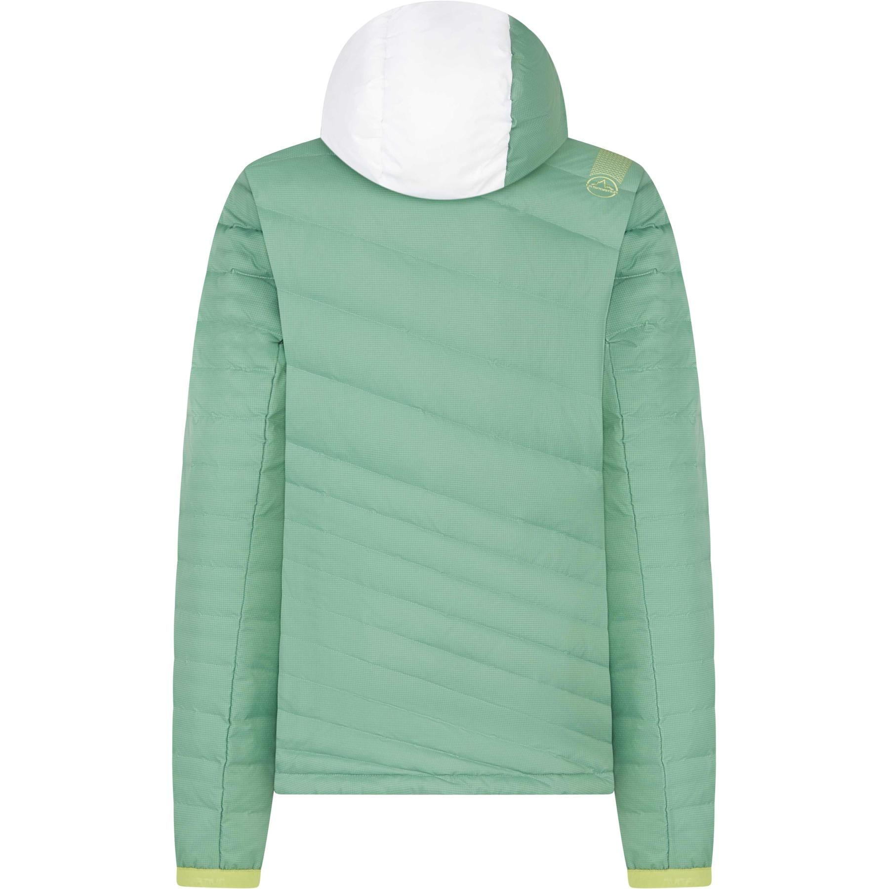 Image of La Sportiva Azaira Down Jacket Women - Grass Green/White