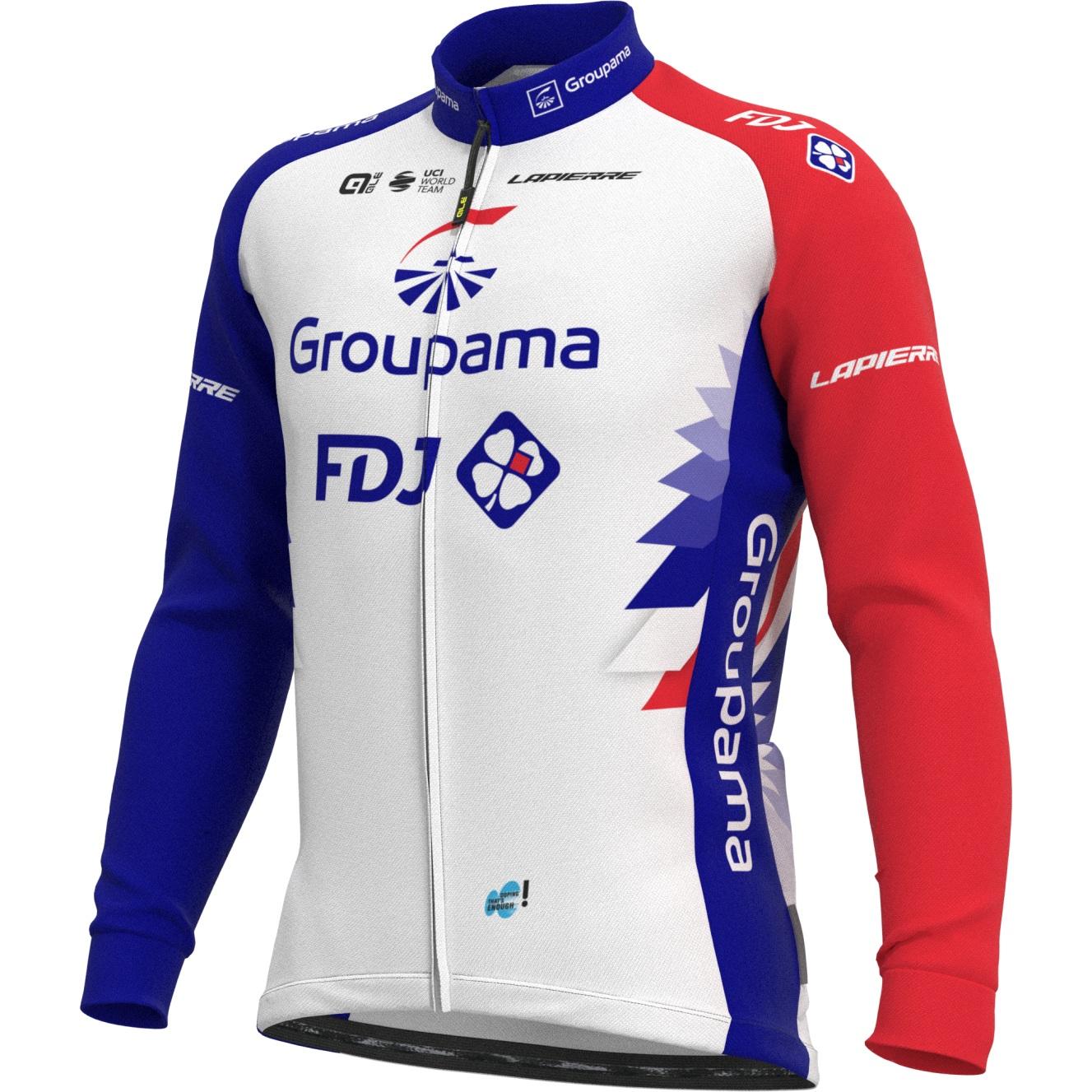 Alé Prime Longsleeve Jersey Team Groupama FDJ 2021