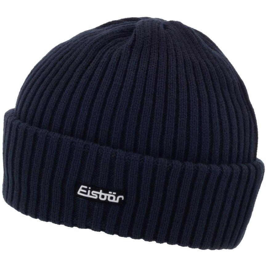 Image of Eisbär Ripp Beanie - dark blue 024