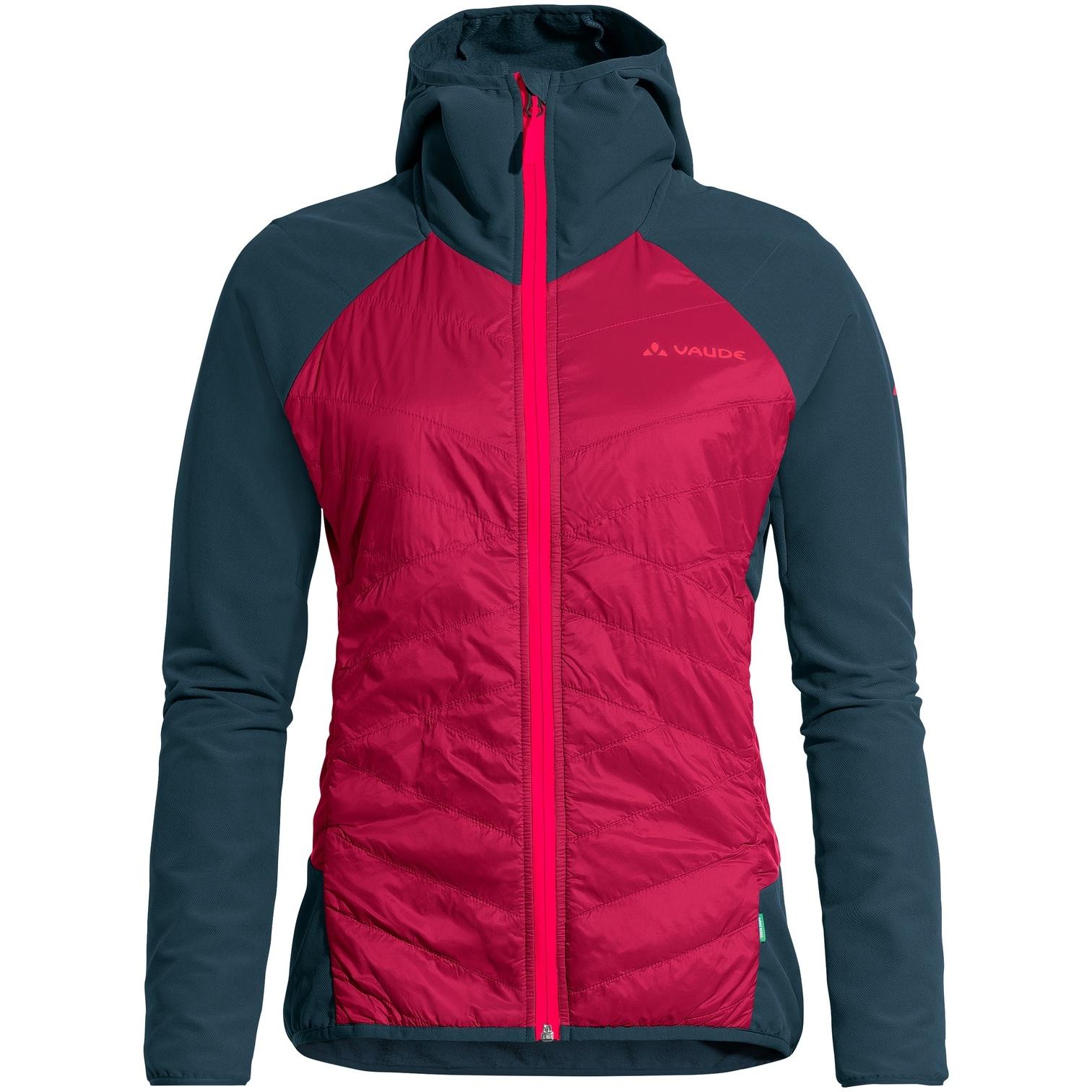 Vaude Women's Valdassa Hybrid Jacket - crimson red
