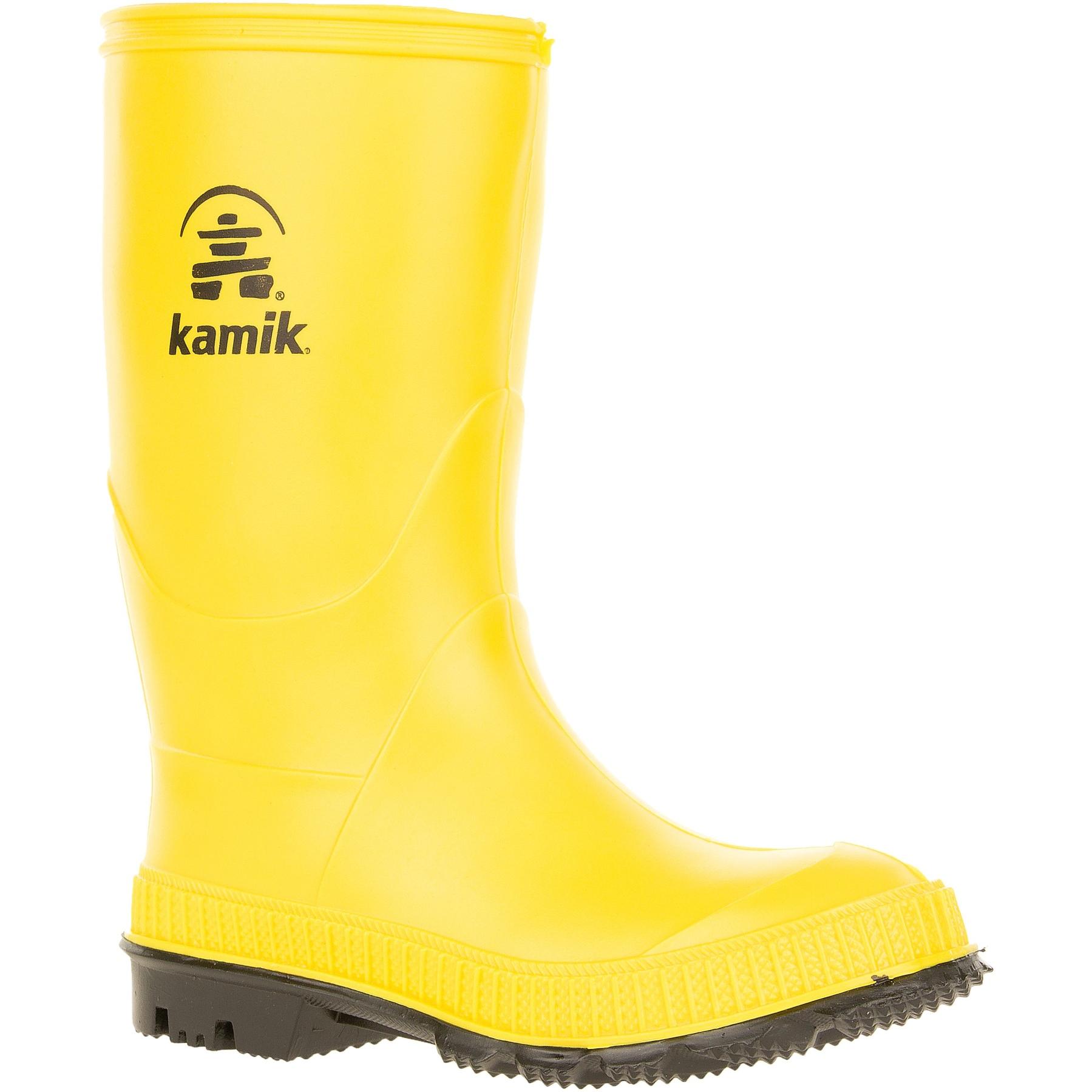 Kamik Stomp Kinder Gummistiefel - Yellow Black