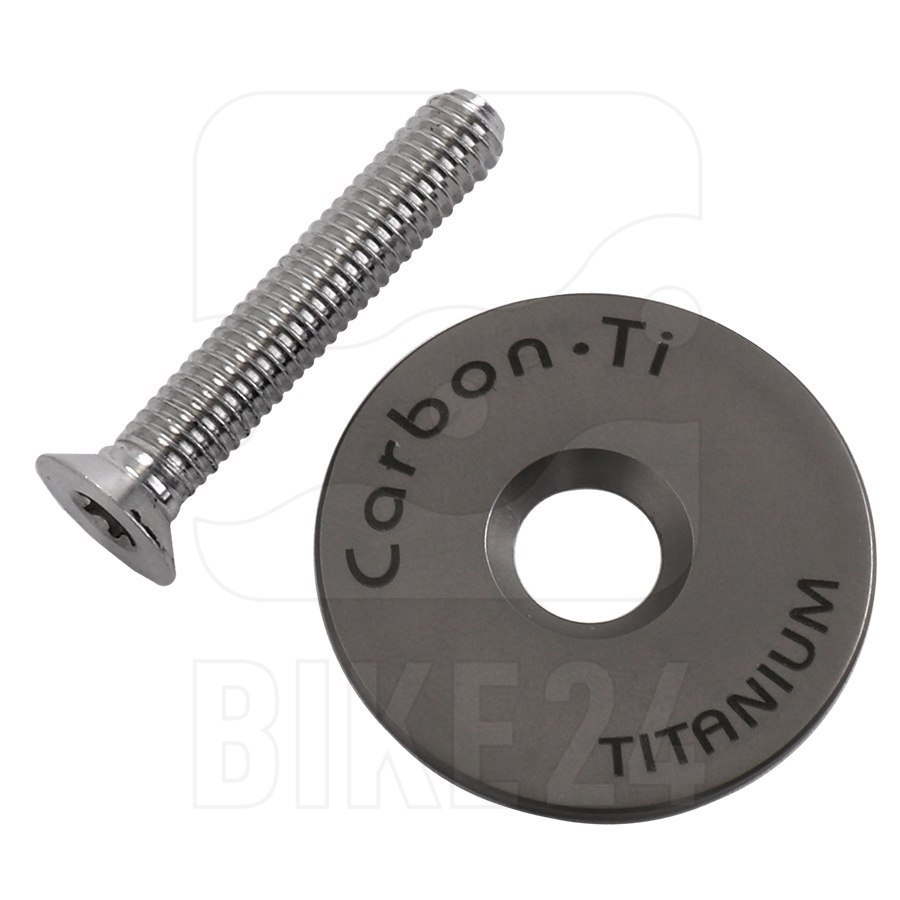 Carbon-Ti X-Cap 3 Ahead Cap - Titanium - silver