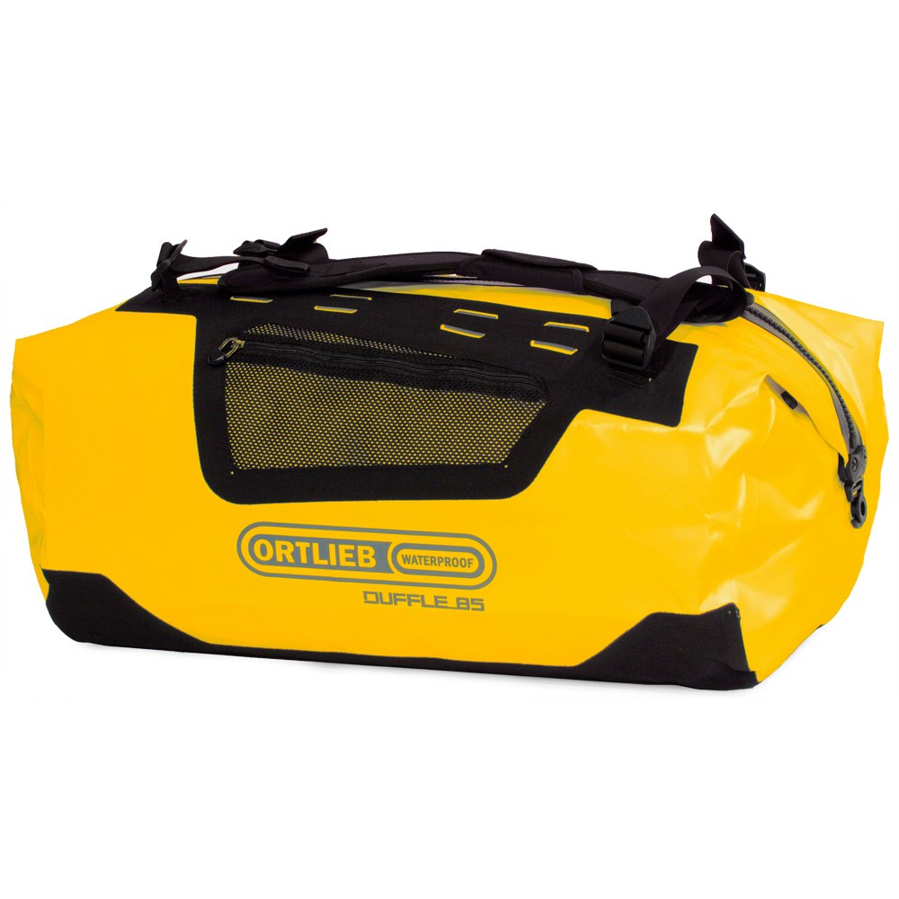 Picture of ORTLIEB Duffle - 40L Travel Bag - sun yellow-black