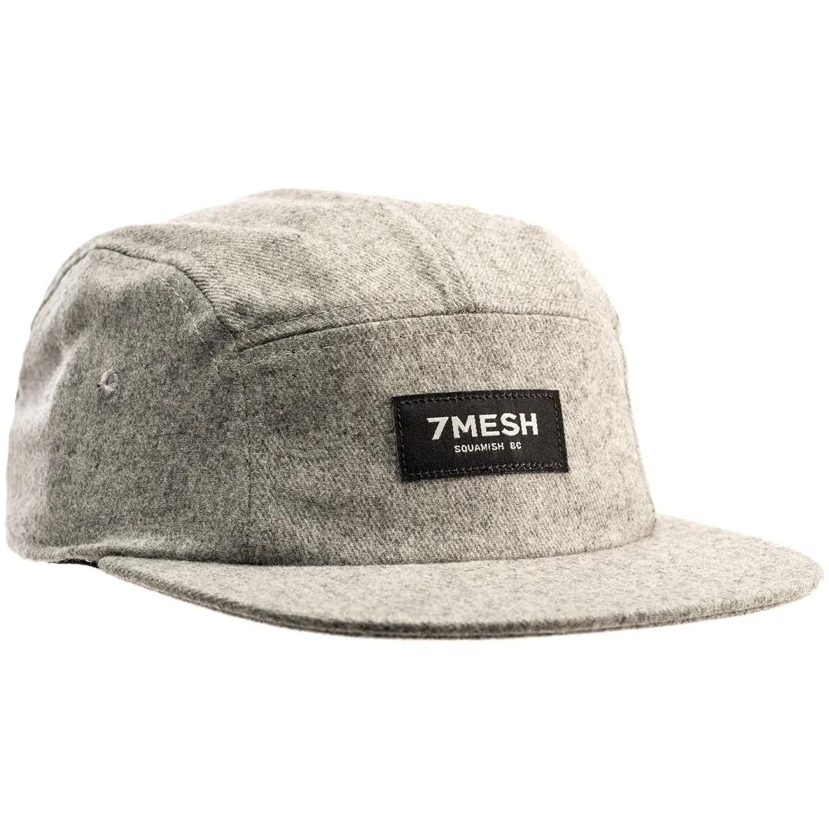 7mesh Trailside Flannel Gorra - Charcoal