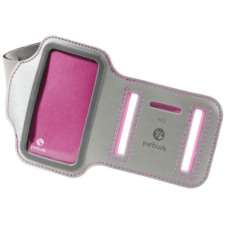Yurbuds Inspire Armband Women für iPhone 5 + iPod Nano 7 - Pink