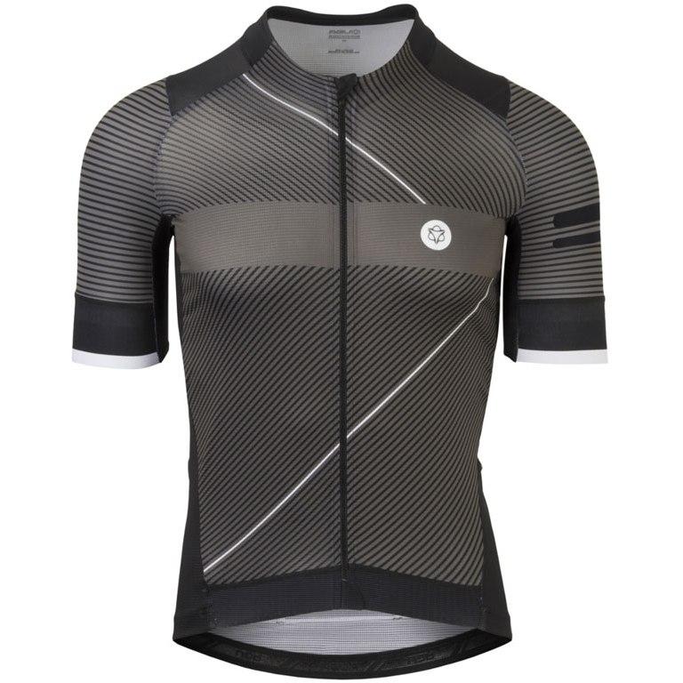 AGU Premium Stripe Short Sleeve Jersey - black/grey