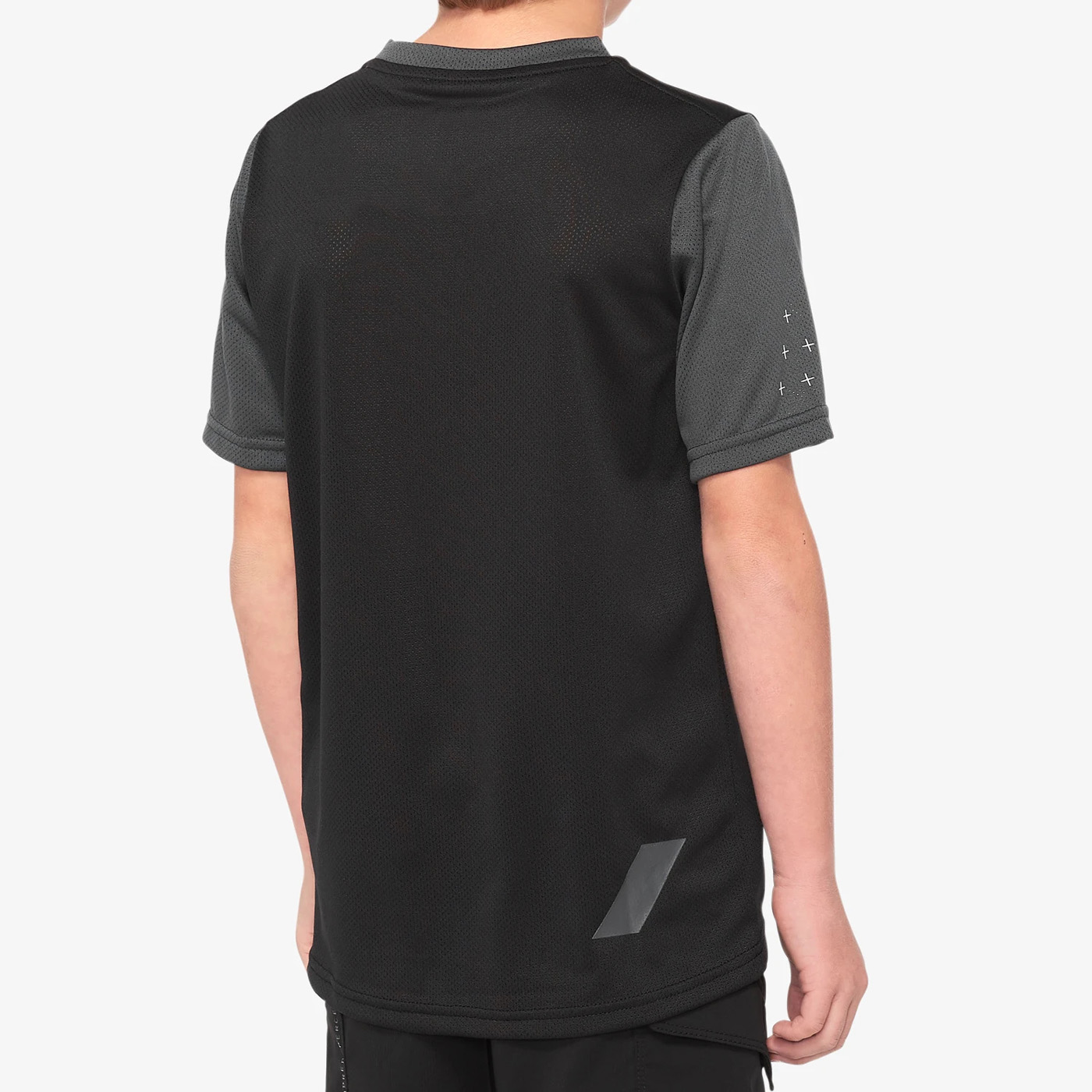 Imagen de 100% Ridecamp Youth Maillot - Black / Charcoal