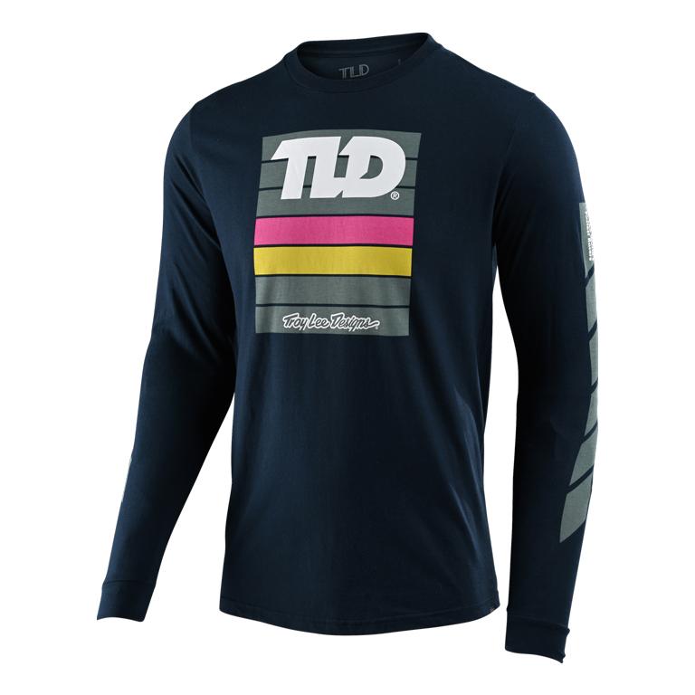 Produktbild von Troy Lee Designs Pregame Langarm-Shirt - Navy