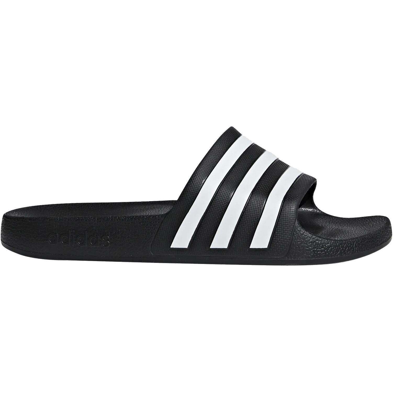 Foto de adidas Adilette Aqua Slides Bathing Shoes - core black/cloud white/core black F35543