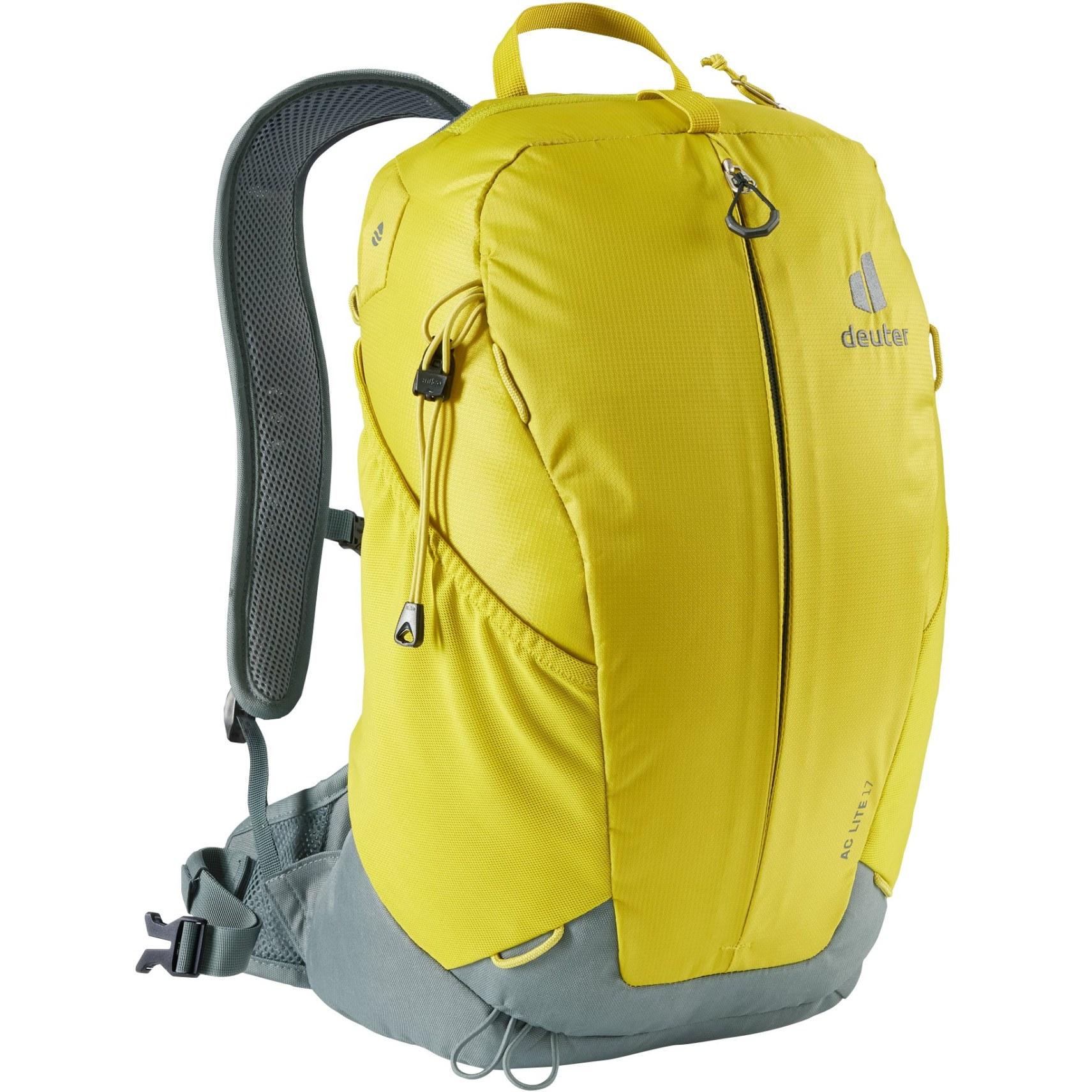 Deuter AC Lite 17 Backpack - greencurry-teal