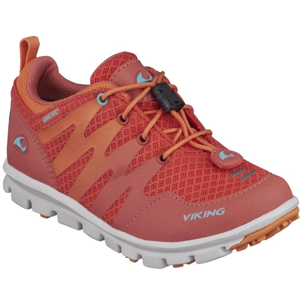 Viking Bislett GTX Kids Shoe - coral/mint 5154