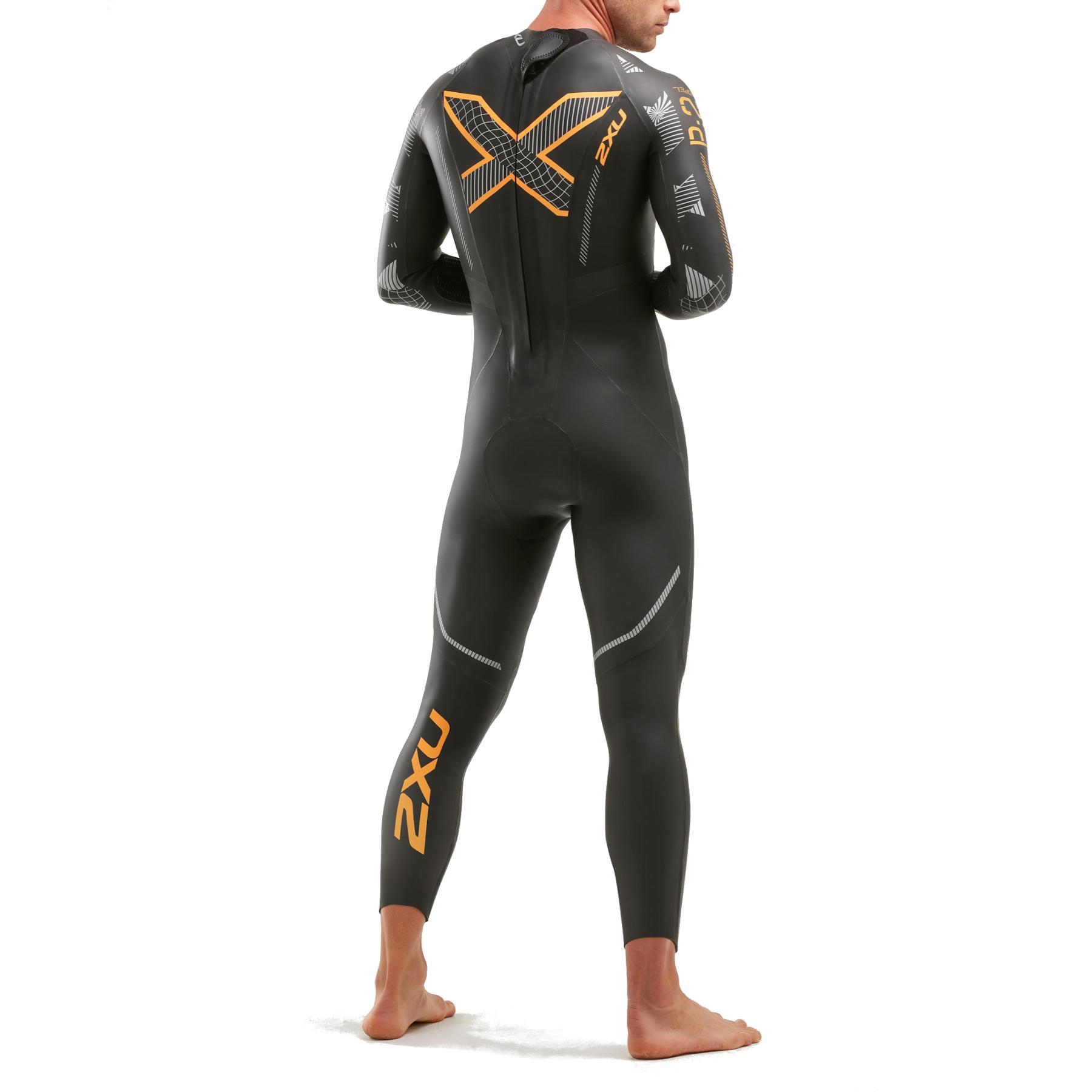 Imagen de 2XU P:2 Propel Wetsuit - black/orange fizz