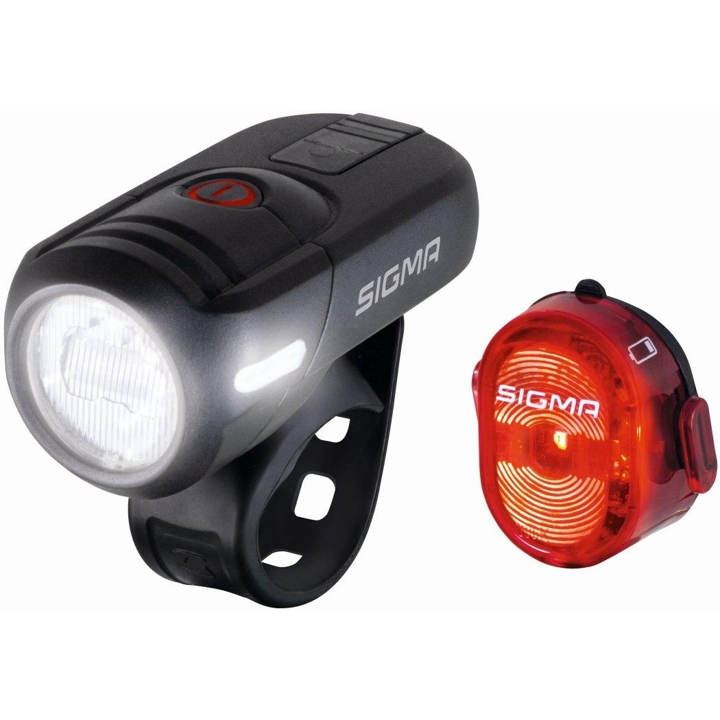 Produktbild von Sigma Sport Aura 45 USB / Nugget II Fahrradbeleuchtung