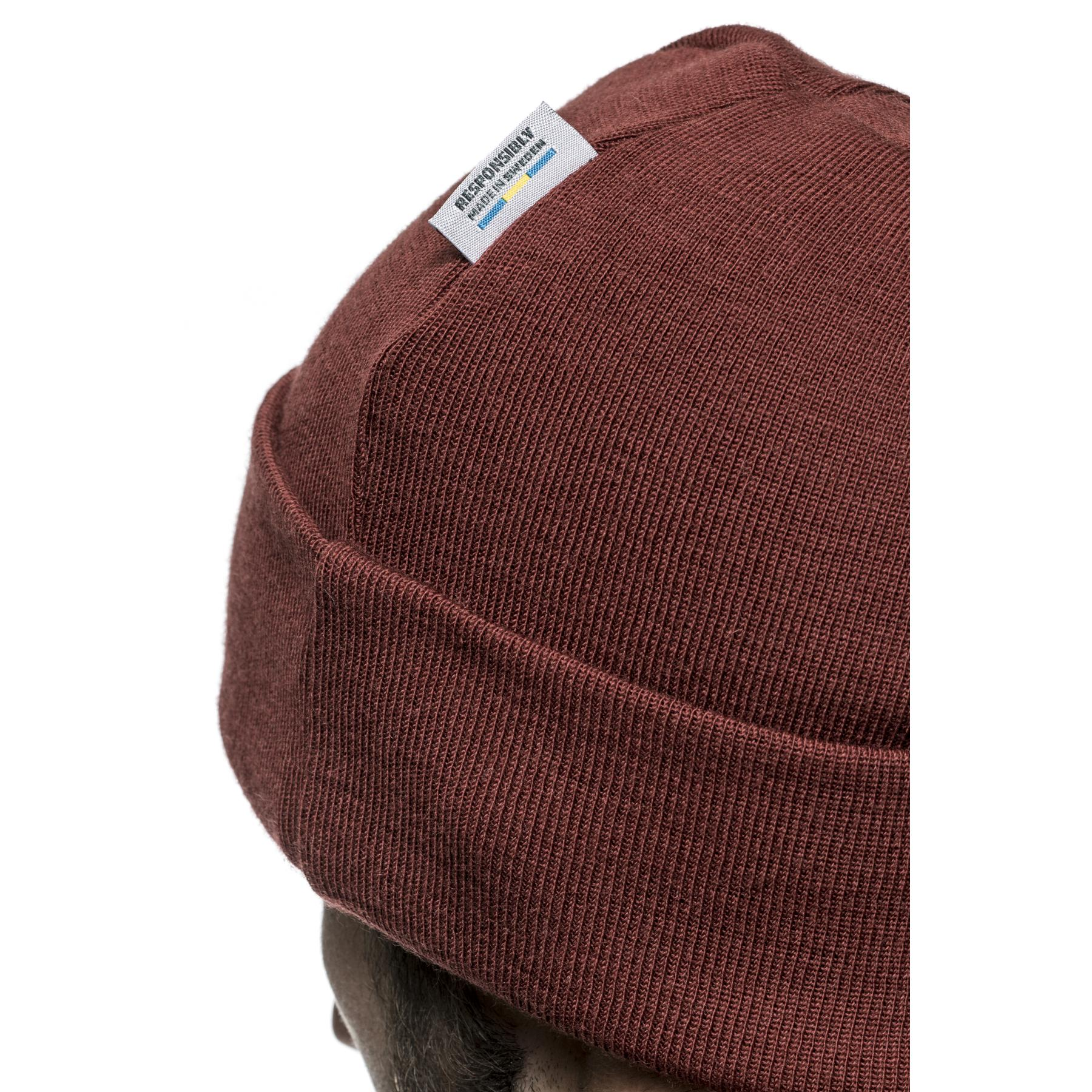 Bild von Woolpower Beanie Classic Mütze - rust red