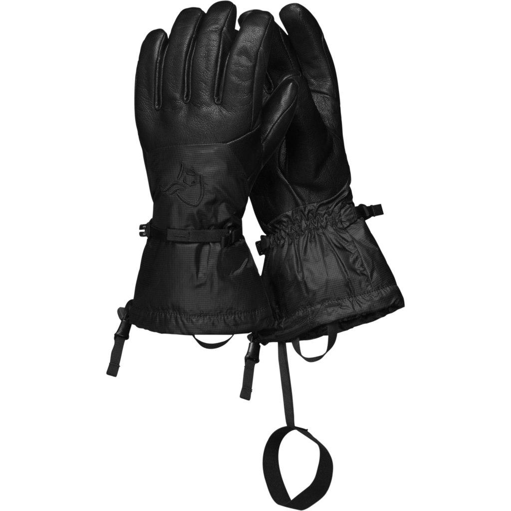 Norrona trollveggen Gore-Tex Gloves - Caviar