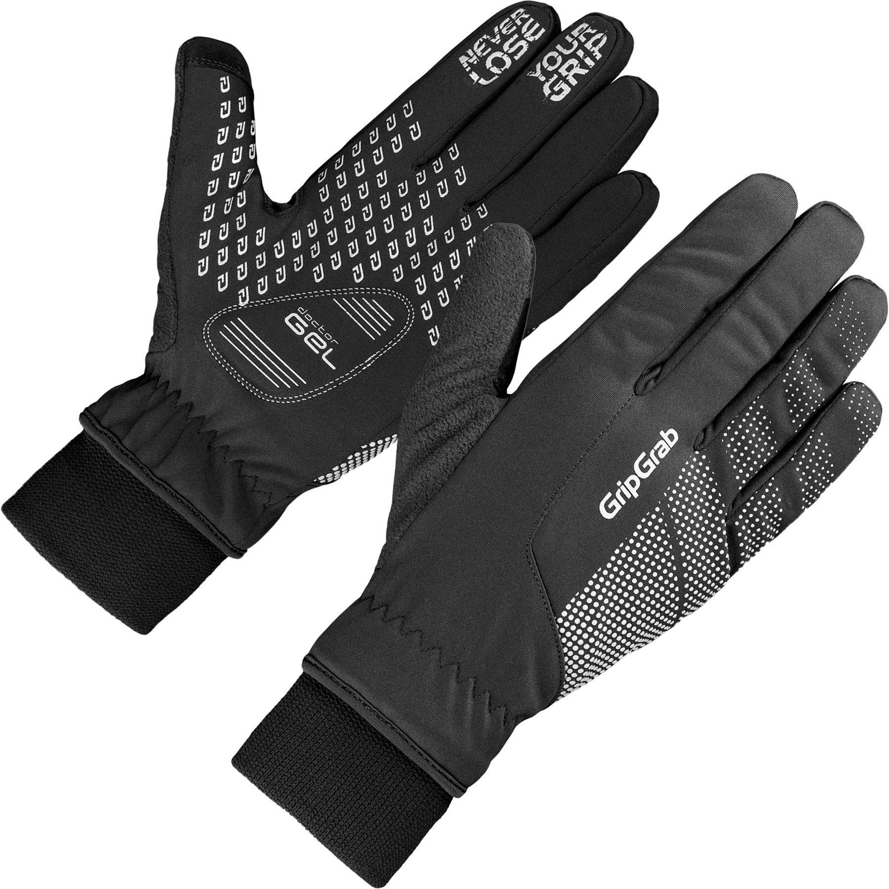 Produktbild von GripGrab Ride Winddichter Winter Handschuh - Black